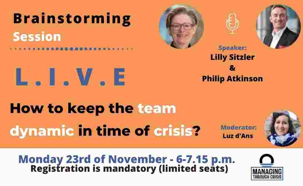 Cris dynamic team live session orise workshop debate leader orise