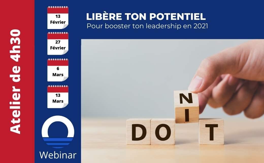 leadership potentiel webinar workshop booster son leadership management Orise